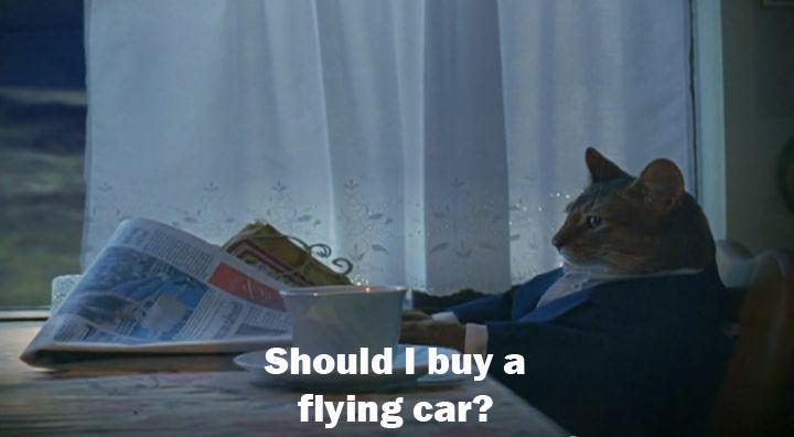 flying car meme