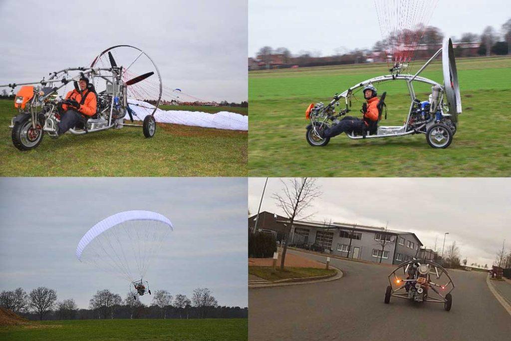 paracar - german flying car