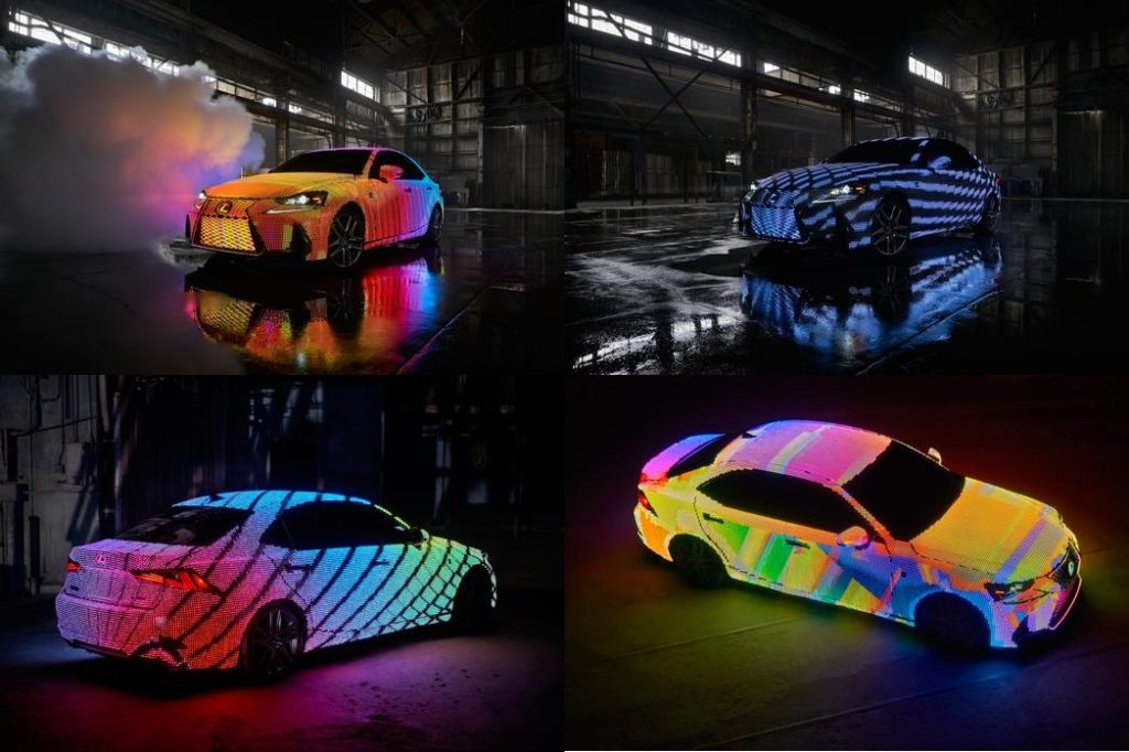Lexus Is Lit A Revolutionary Color Changing Car